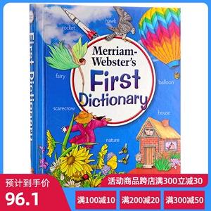 英文原版 韦氏儿童初级插图字典 Merriam-Webs