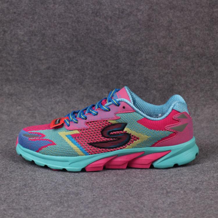 轻便透气休闲跑步鞋网布编织缓震运动鞋女鞋 时尚舒适女跑鞋