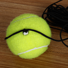 The hand of authentic sky tennis single line training tennis beginners elastic rope ball for air pressure