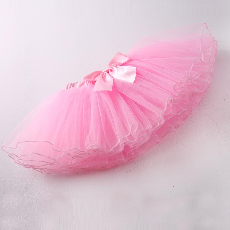 儿童纱裙女童分体舞蹈服公主半身裙