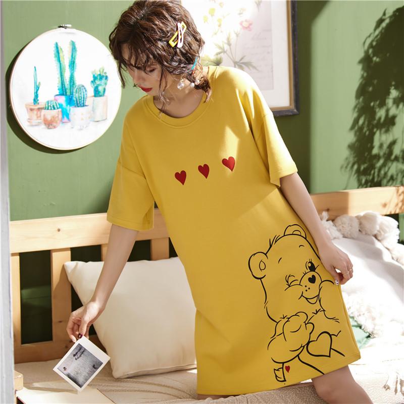 (用1元券)半袖好看夏裙日式韩版闺蜜夏季睡衣