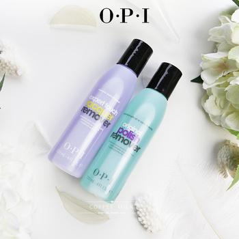 opi紫色高效温和薄荷芦荟洗甲水