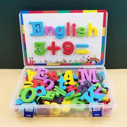 英文字母磁力贴大写磁性贴数字贴磁铁冰箱贴益智儿童英语玩具早教