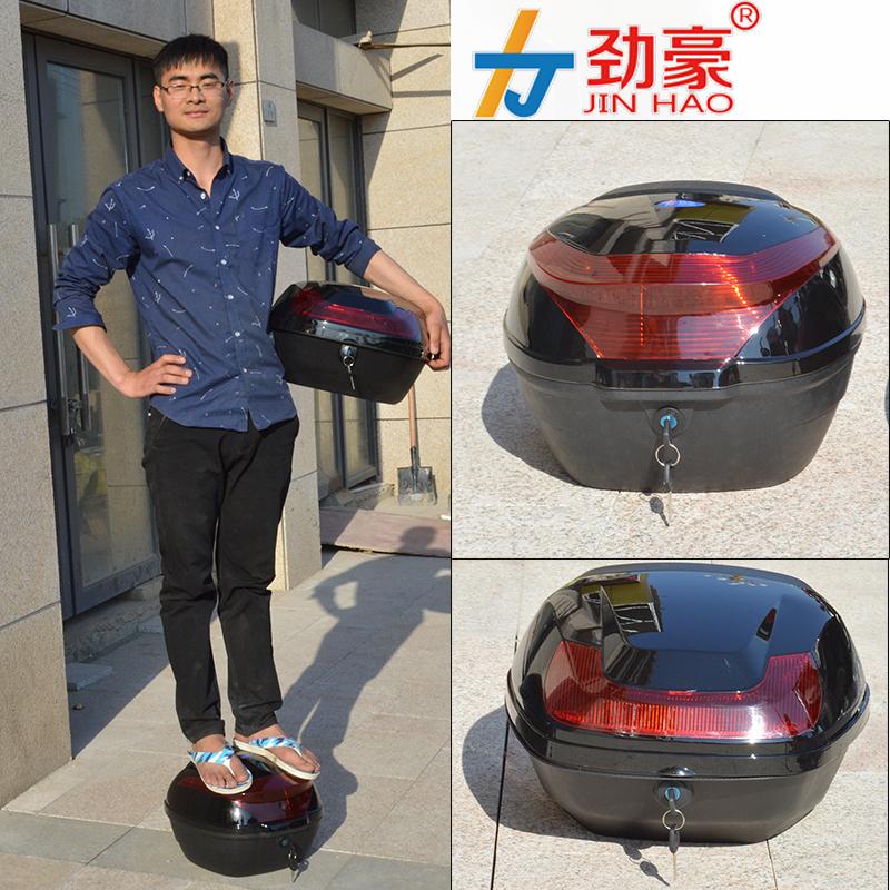 Электромобиль задний мотоцикл багажник аккумуляторная батарея автомобиль инструментарий большой черный пространство коробка для хранения сгущаться материал