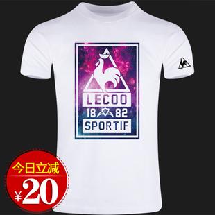 法国公鸡男士短袖夏季新品潮牌t恤