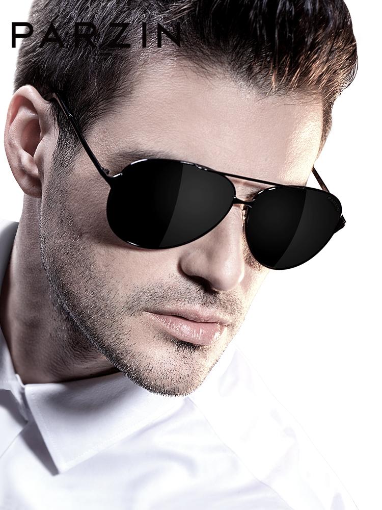 帕森男士墨镜太阳镜潮人偏光镜大框司机开车驾驶飞行员蛤蟆镜8009