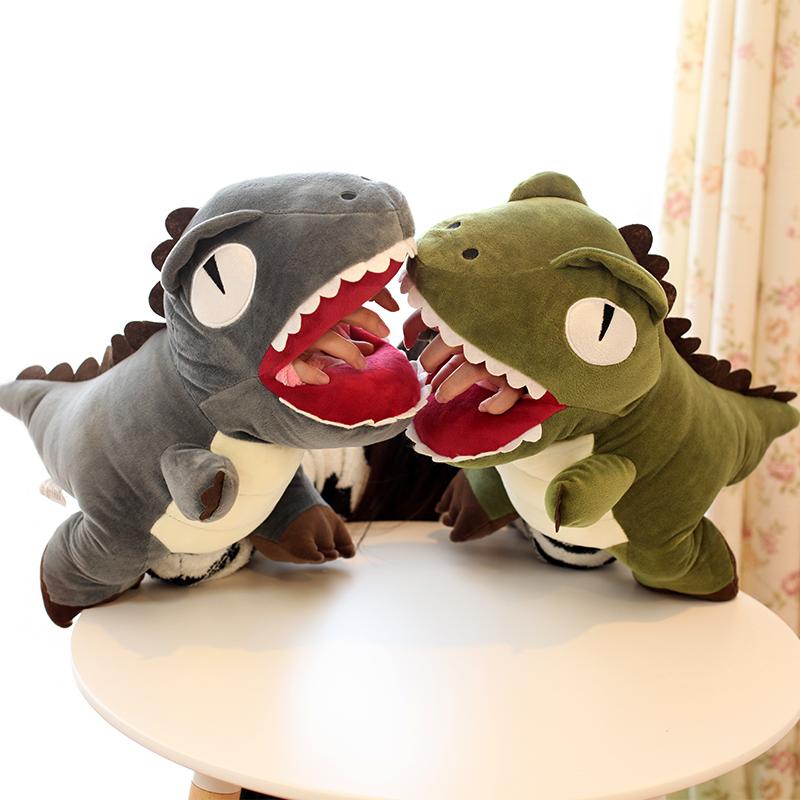 暖手宝抱枕恐龙公仔创意毛绒玩具插手可爱娃娃玩偶生日儿童女手捂