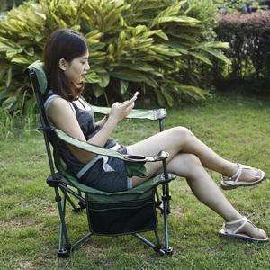户外折叠椅躺椅便携靠背休闲椅沙滩椅钓鱼椅子午睡午休床椅折叠凳