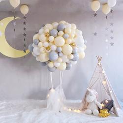 ins风抖音小红书土耳其热气球篮子装饰生日周岁百天室内装扮布置