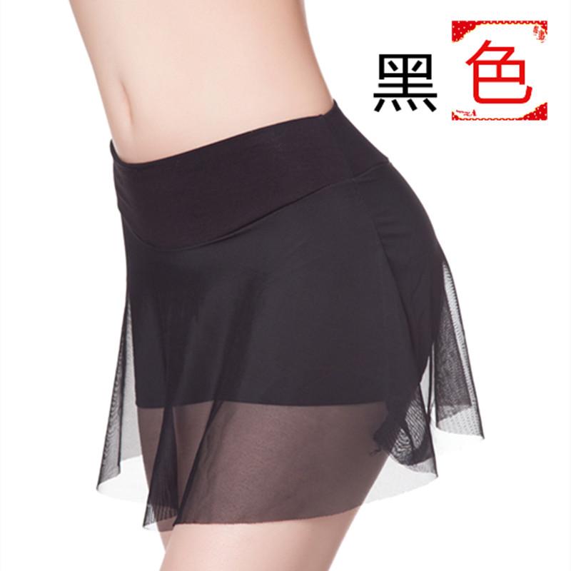 外穿宽松百褶裙新款大码百搭运动短裤女夏蕾丝拼接双层保险打底裤