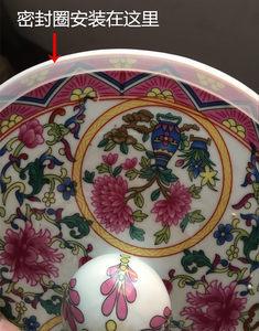 酷宝陶瓷 100斤密封圈50斤密封圈电煲密封圈盖子电锅类配件