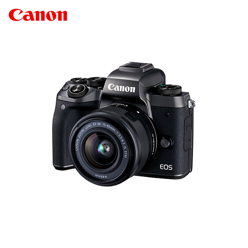 【0首付分期】老虎机最新白菜网址EOS M5微单套机EF-M15-45镜头 微型单反相机