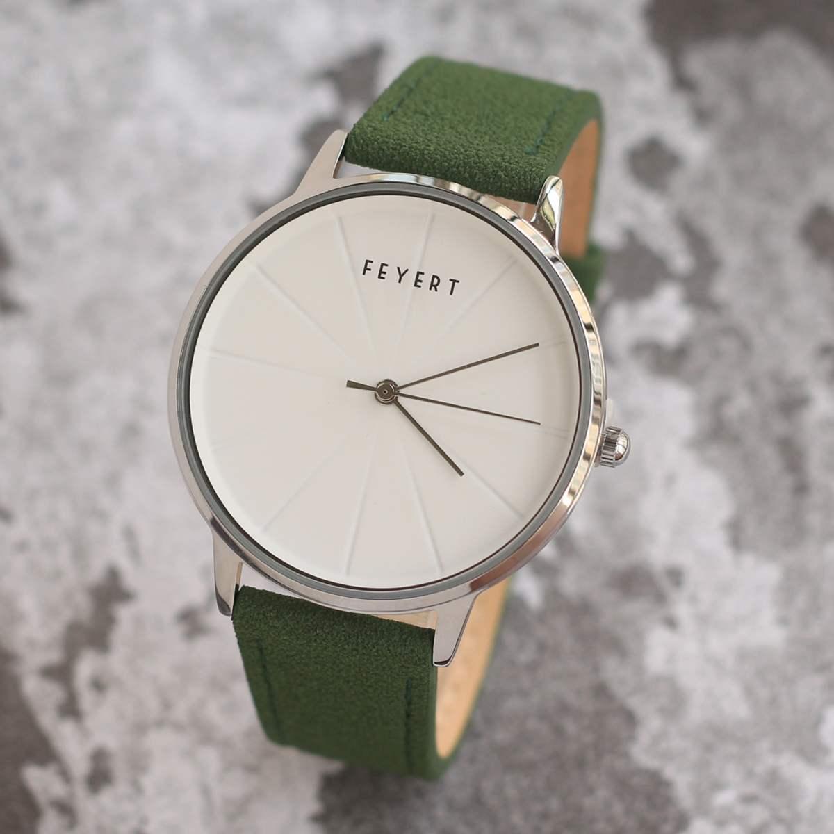 FEYESTヨーロッパの大衆ブランドの中性ファッションシンプルなデザインの男性と女性の大学生の腕時計です。
