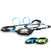 AGM Sonic Storm Road track racing toy children electric remote Control racing runway race track car set