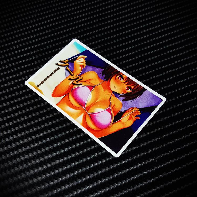 个性少女潮牌行李旅行箱贴纸个性防水汽车贴 笔记本电脑贴纸S0002