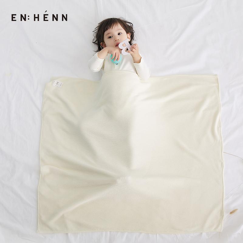 enhenn童装新生婴儿2020新款宝宝纯棉盖毯针织毯四季通用儿童盖被