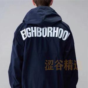 涩谷精选 原创品牌THoracle 连帽尼龙半拉链冲锋衣宽松薄长袖卫衣