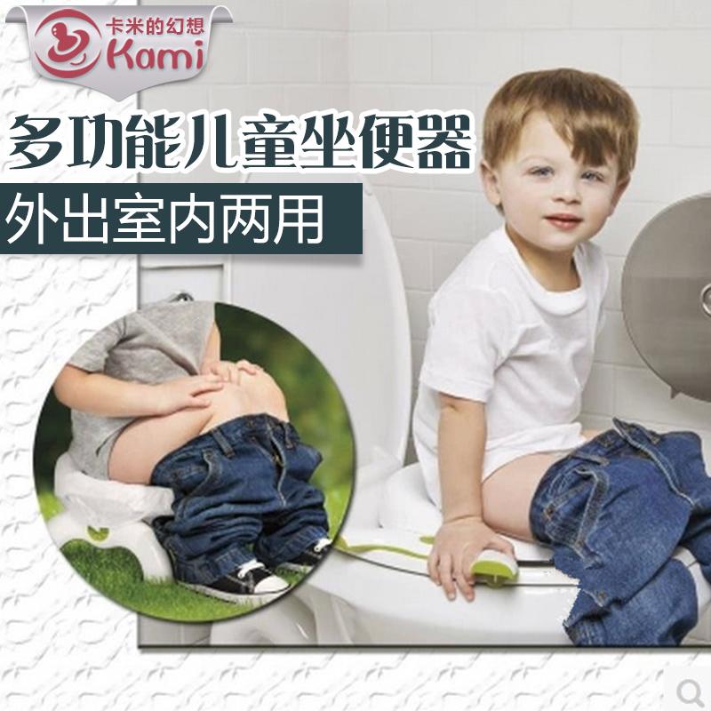 На складе подлинный OXO ребенок ребенок 2 близко 1 из путешествие портативный туалет / сиденье для унитаза / писсуаров аварийный