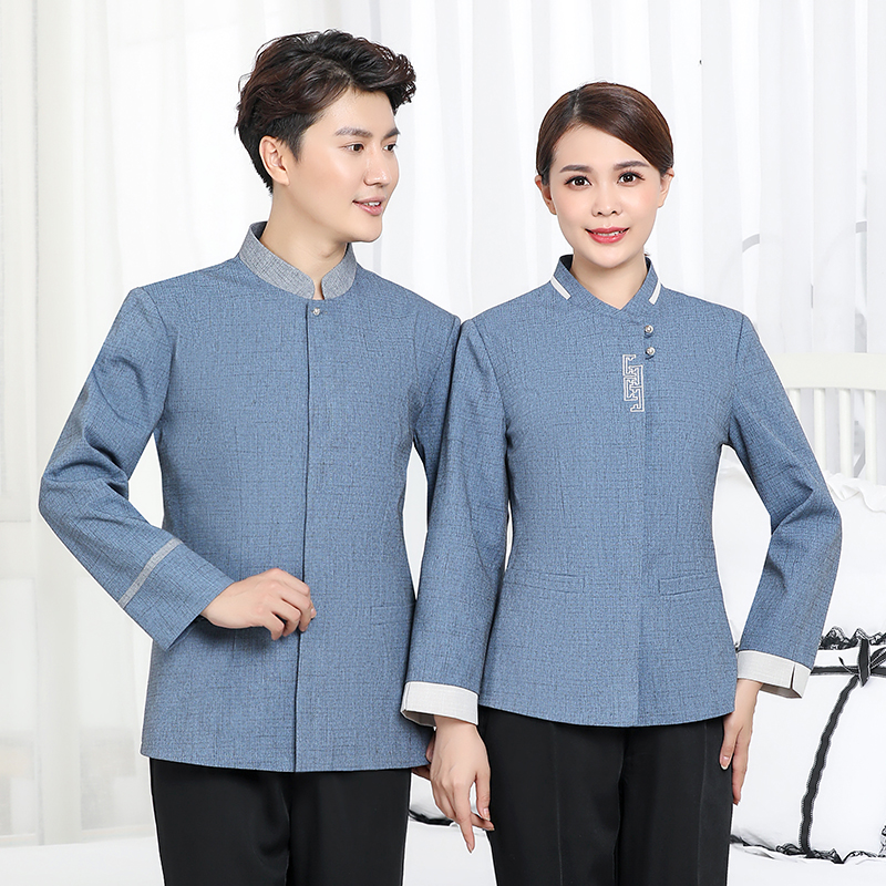 Summer cleaners short sleeved work clothes Restaurant Restaurant cleaners health clothes elderly care home nurse uniforms