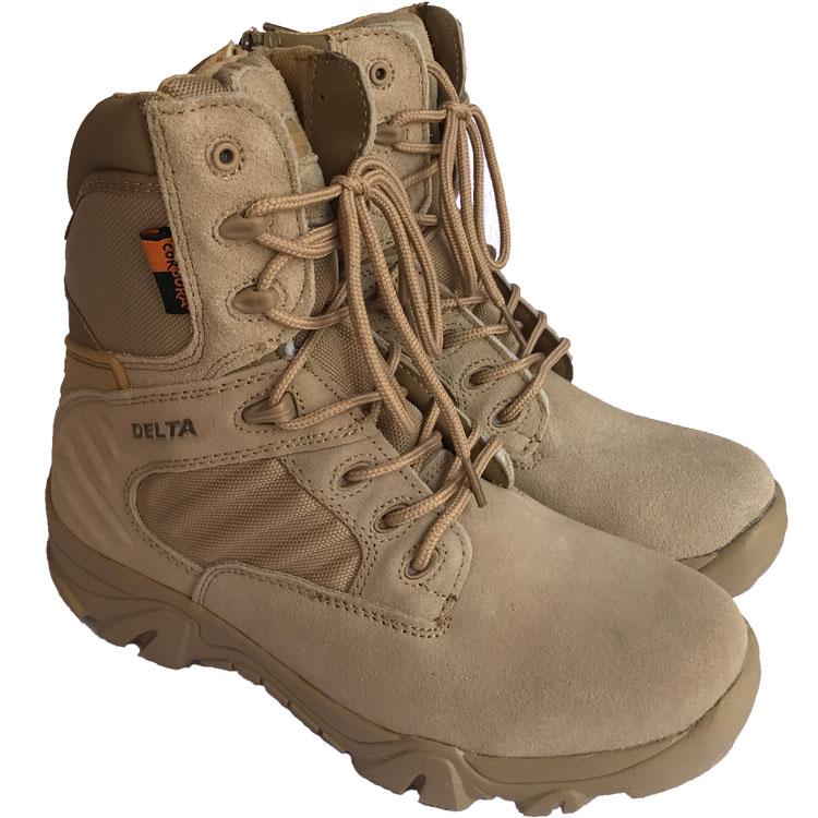 Пятиугольный пять шесть - Delta треугольник континент войска тактический ботинок высокий пустыня ботинок 07 борьба ботинок
