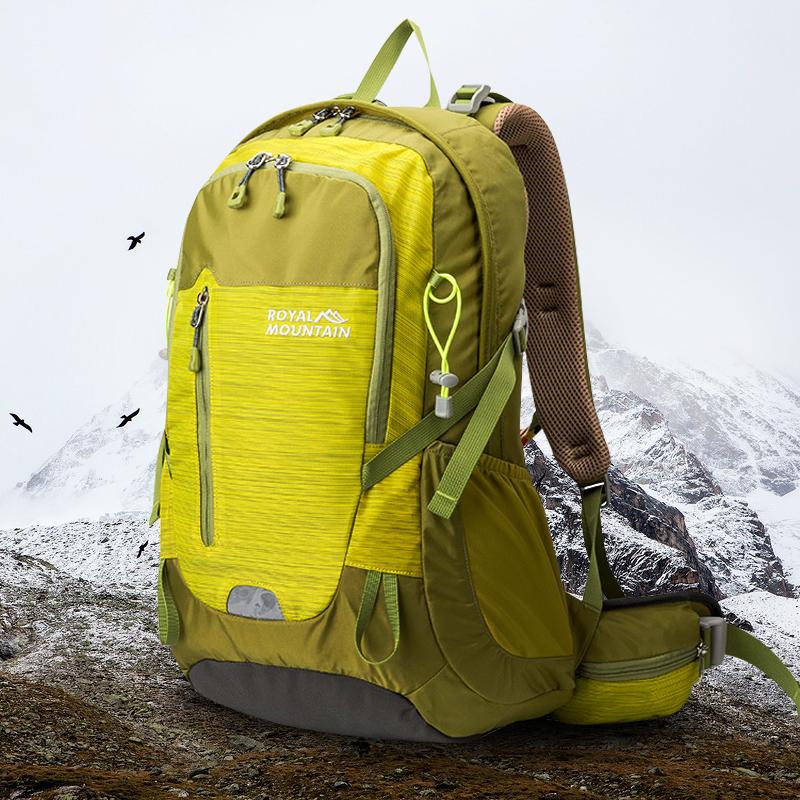 富贵山春季新款户外双肩背包时尚韩潮登山包防泼水旅行徒步包