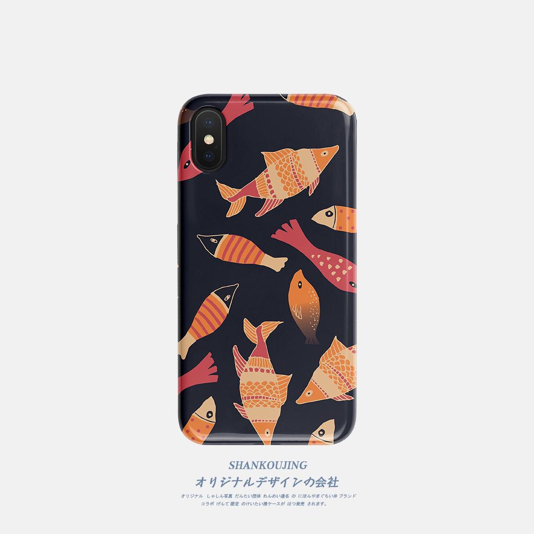 山口井 苹果XR/XSMAX手机壳7/iPhone8plus华为p20/p30pro/mate20