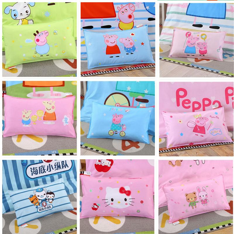 儿童枕头3-6岁幼儿园纯棉枕套卡通可爱小孩小学生护颈防偏头枕芯