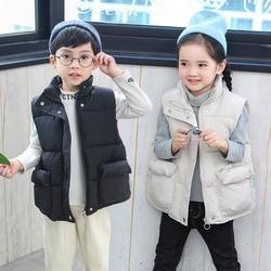 男女童衣服儿童男棉背心马甲秋冬外穿2020年羽绒棉衣新品新款学生