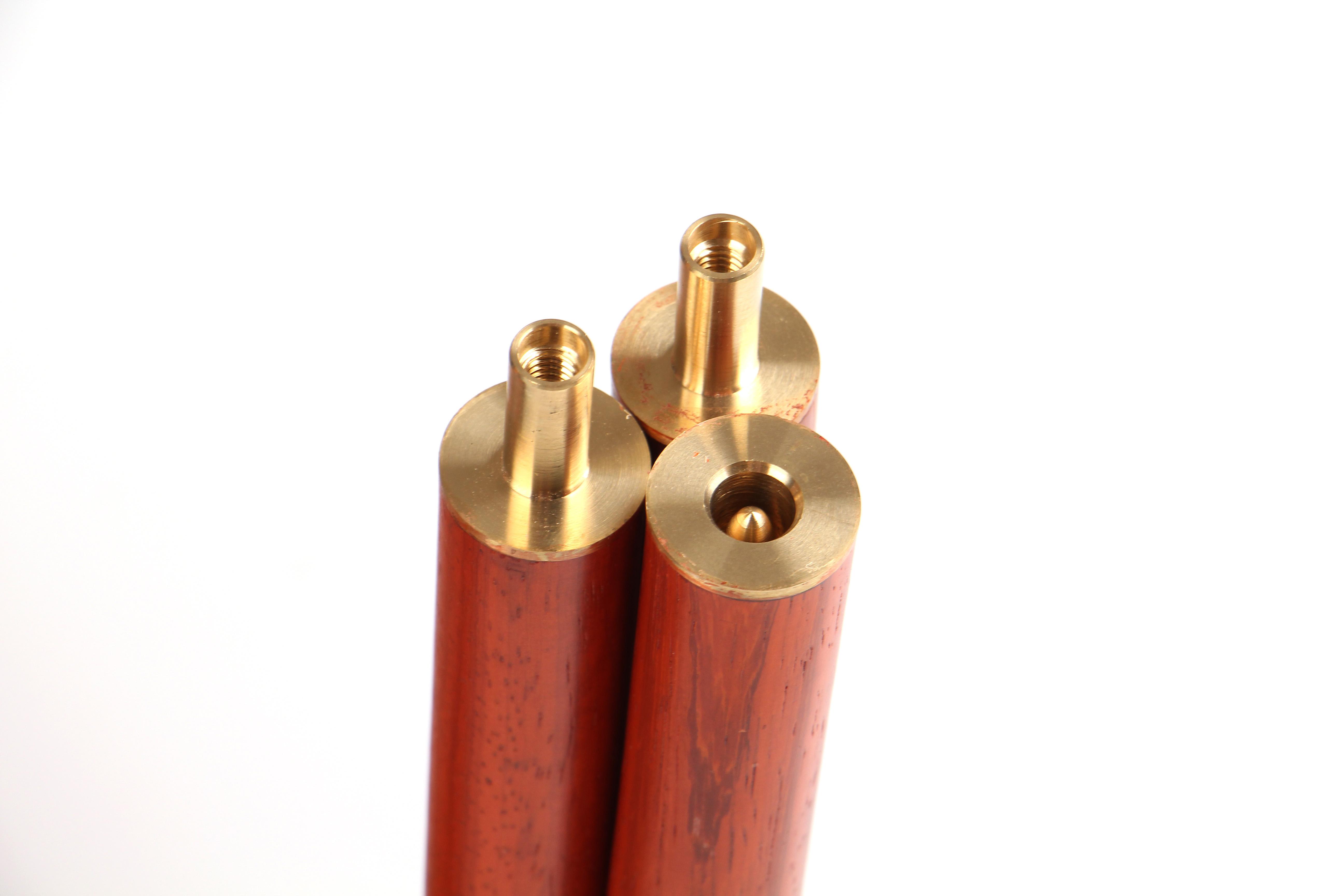 Бесплатная доставка красное дерево серия тай-чи здравоохранения тростник нет медь крышка длина 1.2 метра три сегмент китай фитнес газ гонг объединение может