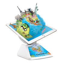 Beidou 26cm intelligent Voice ar globe dot reading pen speech childrens puzzle toys bilingual pupils learn childrens teaching Enlightenment interactive innovation baby watching world globe