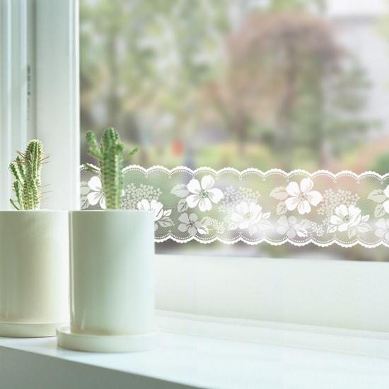 进口玻璃贴膜 透明腰线 阳台门窗玻璃门防撞条镜子贴纸