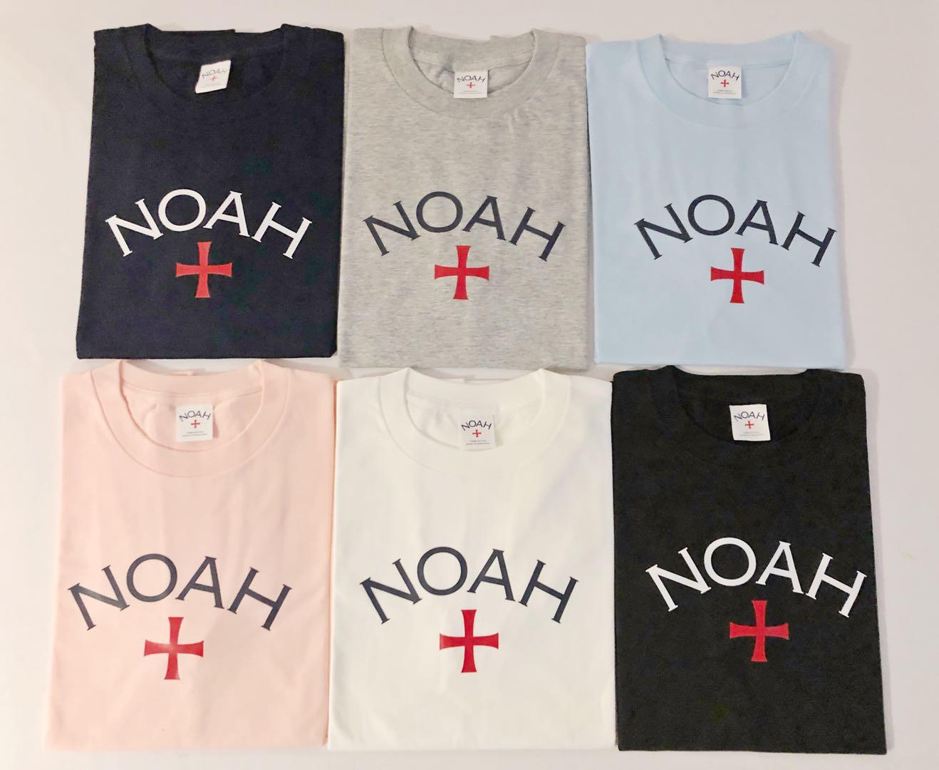 noah 元年初代远征军十字架T恤基础款tee 余文乐短袖同款 上衣