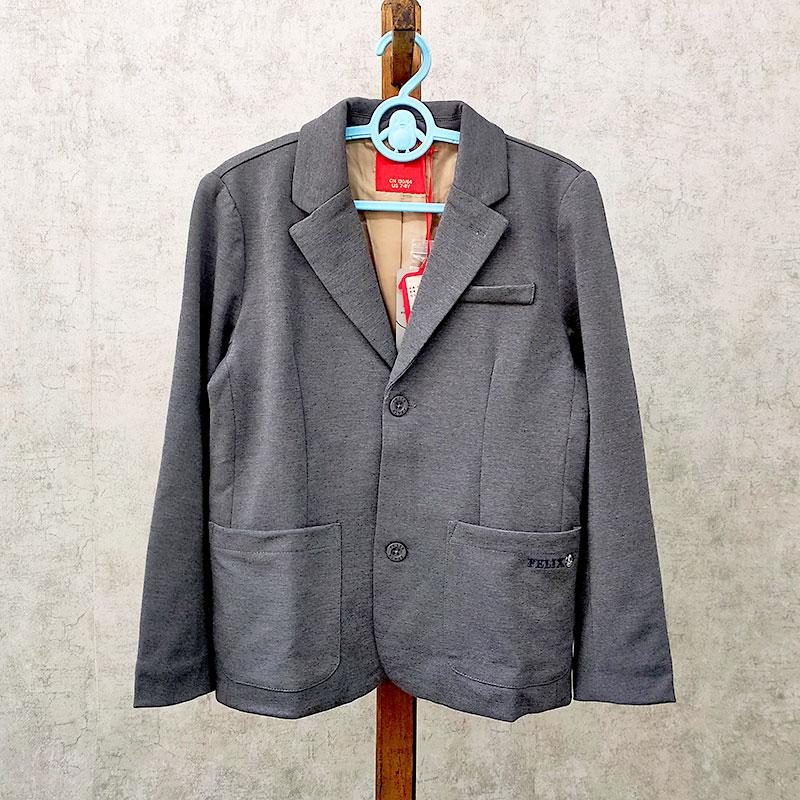 童裝 米系列 品牌折扣 帥氣小紳士~ 針織休閑西裝外套 中大男童