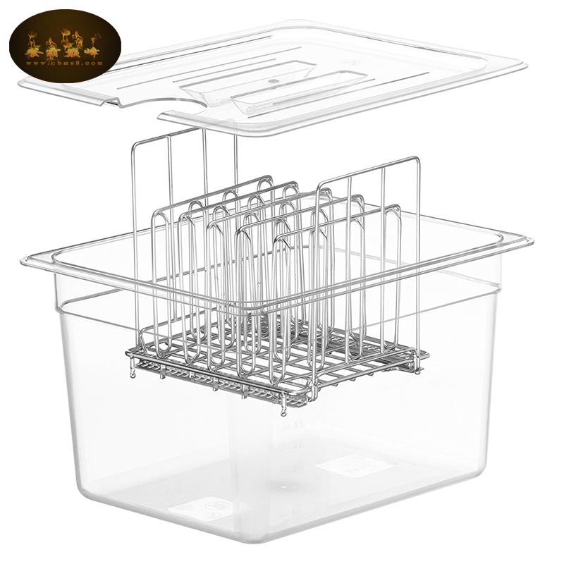 低温慢煮机水箱容器anova舒肥棒水浴盆锅sous vide Container带盖