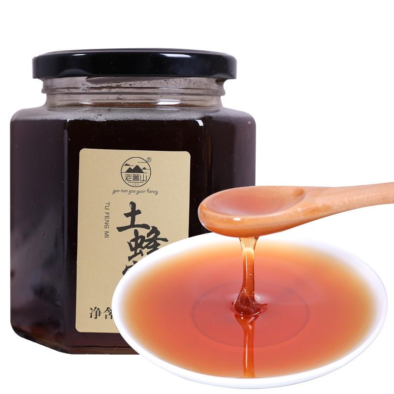 野生蜂蜜土斤蜂蜜特产农家1产蜂蜜土纯正自天然深山云南百花
