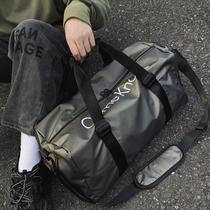 网红旅行包包女大容量短途手提轻便防水行李包帆布学生出差收纳袋