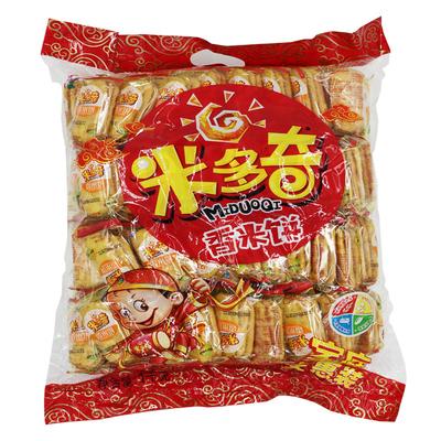 河南米多奇香米饼1000g 米饼雪饼特惠装零食特产小吃仙贝1kg