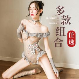 情趣激情内衣床上性感骚挑逗诱惑睡衣丝袜透明火辣服装套装超骚图片