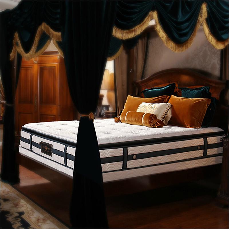 官方正品皇朝家私旗舰店泰国进口天然乳胶床垫1.8米2米2.2米超软