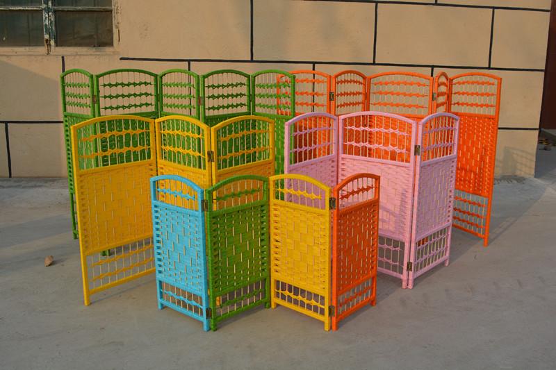 幼儿园区角布置小屏风 宠物隔断折屏 环保 镂空移动区域折叠 玄关