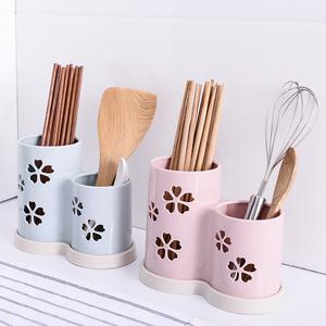 家用沥水筷笼筷子筒 创意壁挂式防霉筷子笼 筷子盒筷勺餐具收纳架
