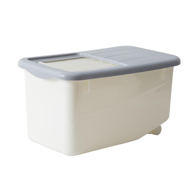 家用储米桶装米箱厨房用品塑料防虫防潮米缸面粉收纳盒10kg储面箱
