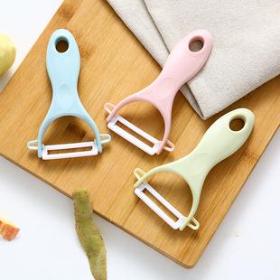 陶瓷水果土豆削皮刀厨房多功能刨刀家用苹果刮皮刀神器削皮器刨子图片