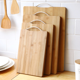 家用厨房案板水果切菜板迷你粘板小号实木防霉双面切板剁肉砧板图片
