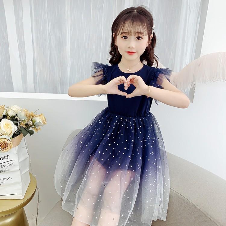 女童夏季连衣裙中国大陆8岁其他10岁其他