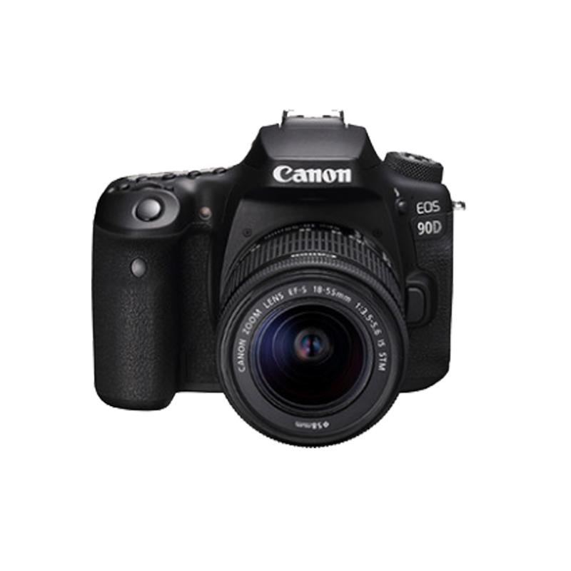 佳能EOS 90d 18-55单反相机套机 数码照相机