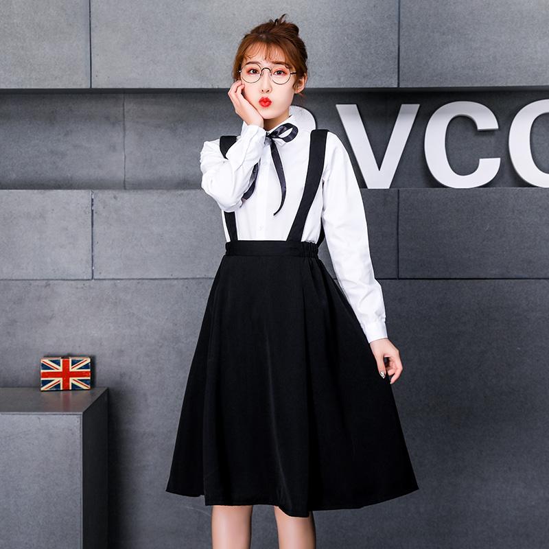 韩版夏季初高中短袖学生校服套装学院风英伦班服男女jk制服毕业照满29.40元可用0.29元优惠券