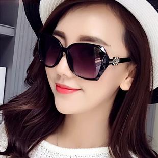2019新款韩版女士太阳镜防紫外线墨镜复古长脸圆脸司机百搭眼镜