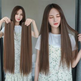 假发女长发假发片长直发小片式长发片直发片一片式接发无痕接头发图片