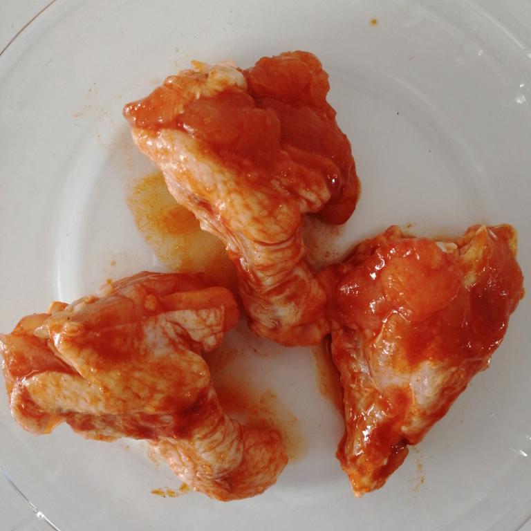 生鲜半成品奥尔良鸡翅根1000g调味冷冻小鸡腿快餐油炸小吃餐馆